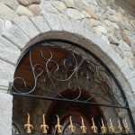 Arched Stone Dentil Molding