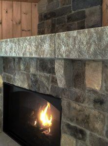 Acadia Fireplace Mantel Detail