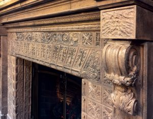 Cape Neddick Fireplace Detail