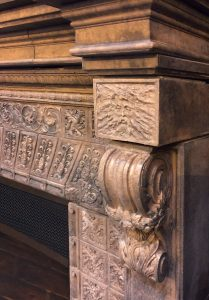 Cape Neddick Fireplace Detail