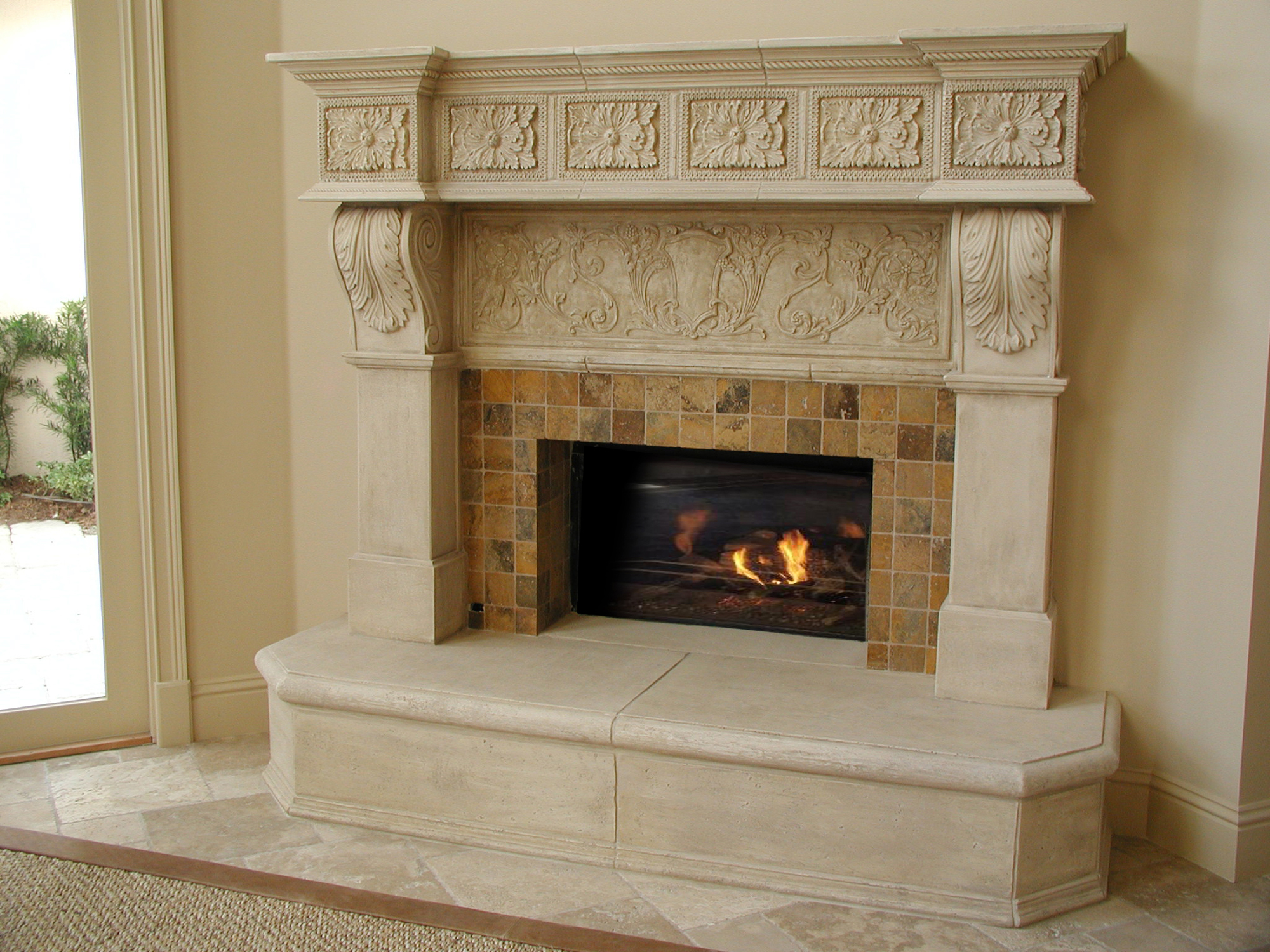 Provencal Fireplace