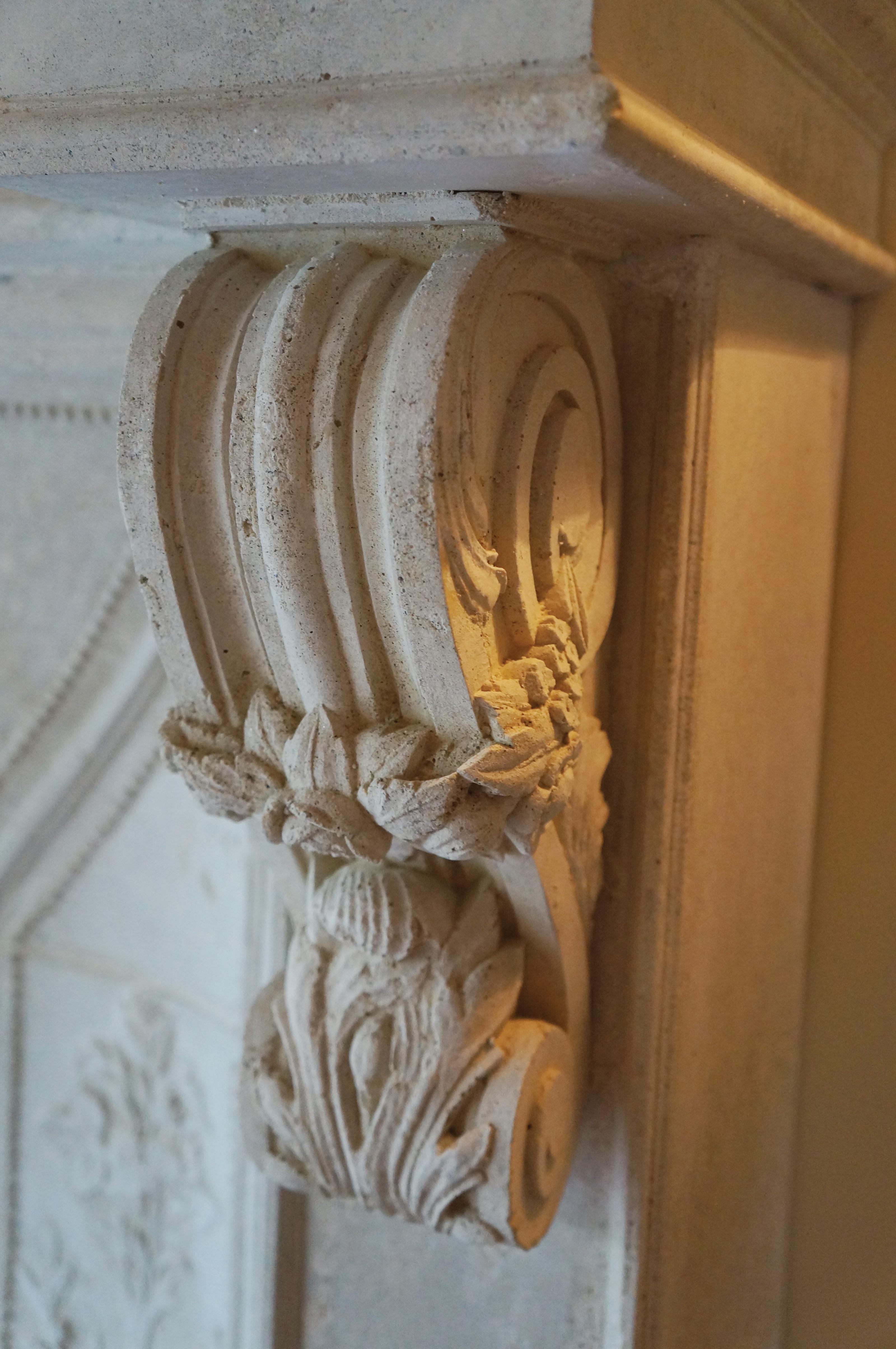 Tuscany Fireplace Corbel Detail
