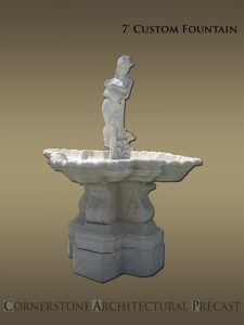 Custom Cast Stone Fountains