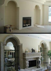 Custom Interior Architectural Cast Stone
