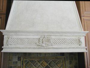 Cavaillon Cast Stone Range Hood Detail