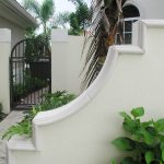 Harbor Island custom cast stone wall caps