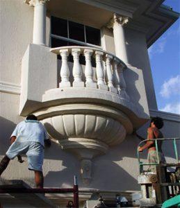 Palazzo II Cast Stone Balustrade