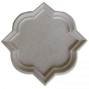 Quadrifoil Cast Stone Plaque