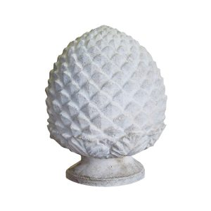 Small Cast Stone Pineapple Finial