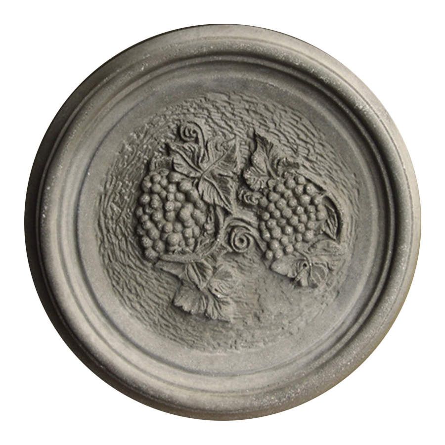 Vineyard Cast Stone Medallion
