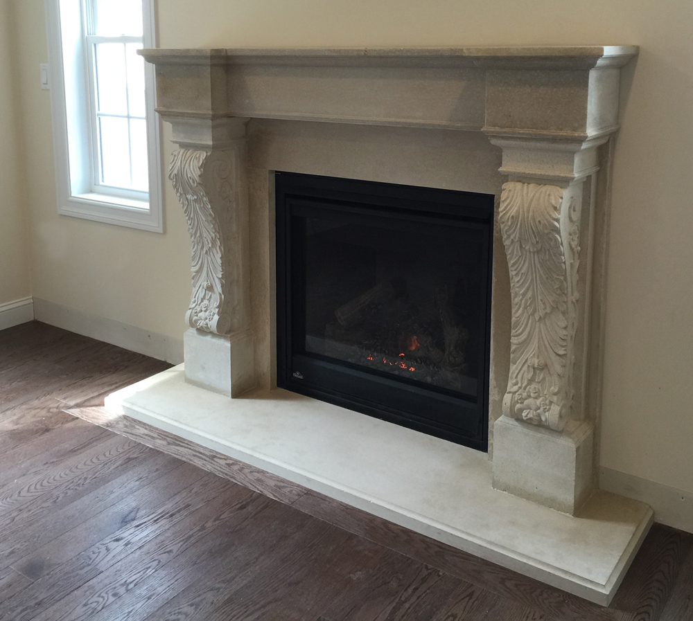 Florence I Fireplace Mantel
