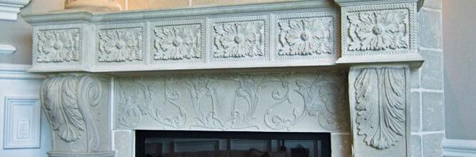 Provençal Fireplace Mantel