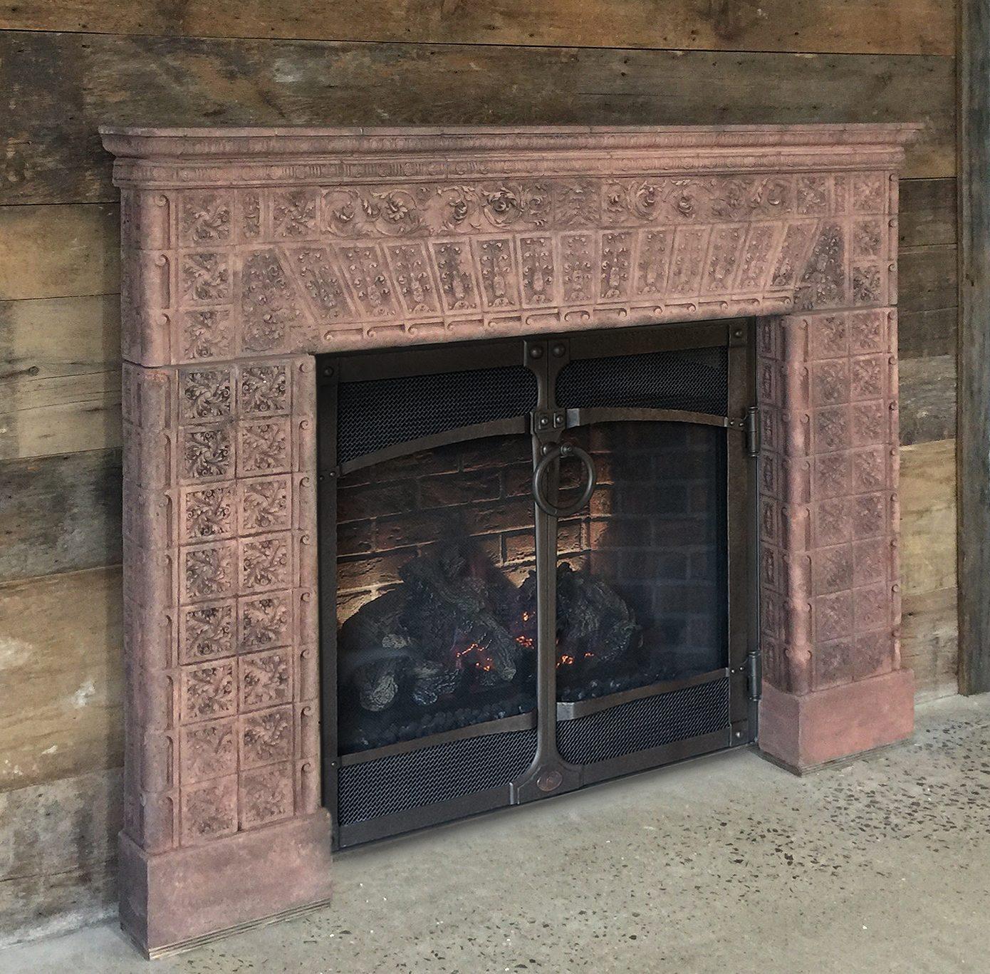Cape Neddick Fireplace Mantel Cornerstone Architectural