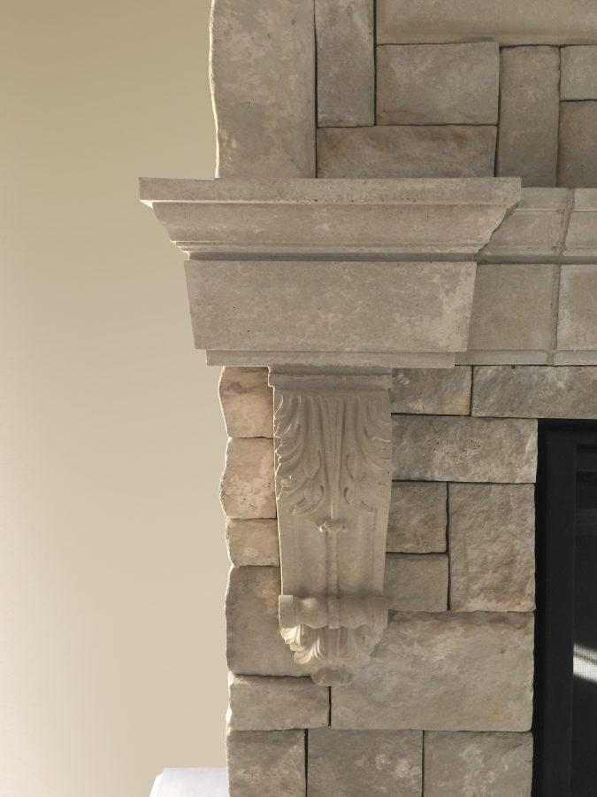 Lexington Fireplace Mantel Corbel