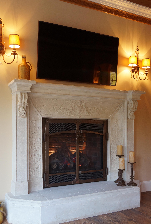 Tuscany Fireplace Mantel Cornerstone Architectural