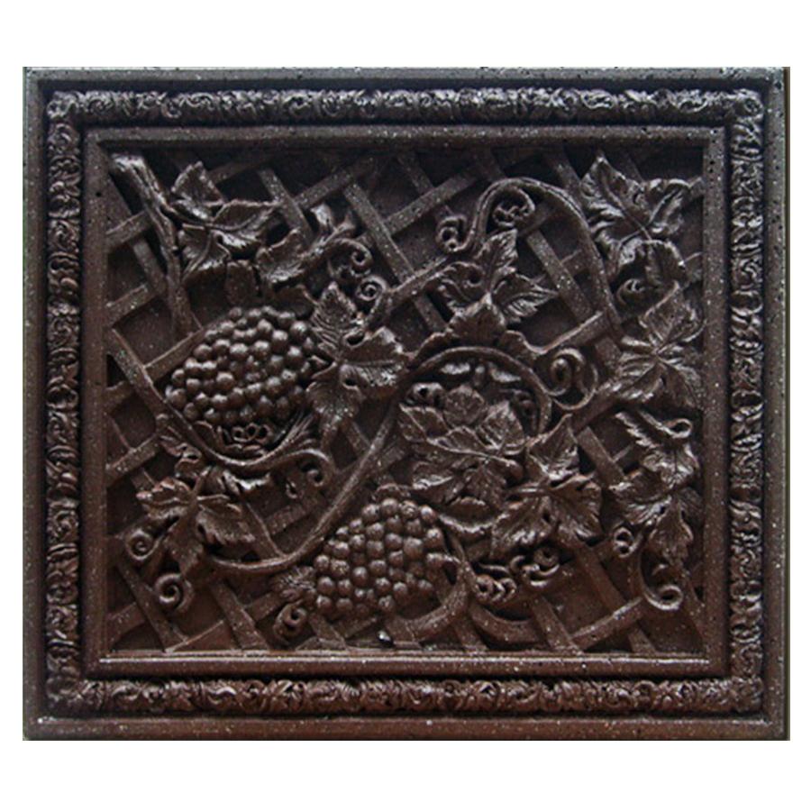 Vineyard Cast Stone Plaque